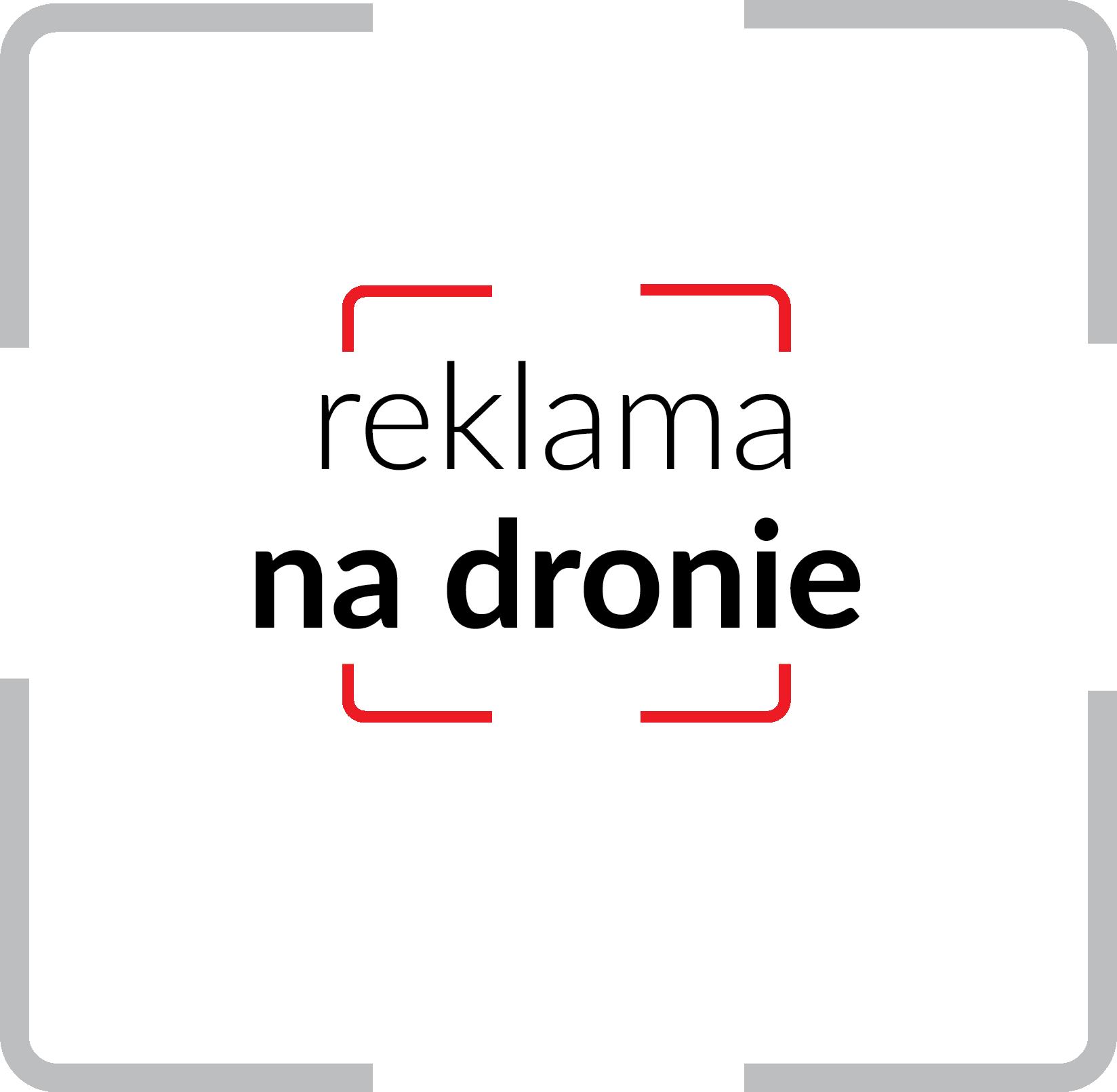 reklama na dronie