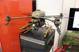 Targi DroneTech, efektowny dron